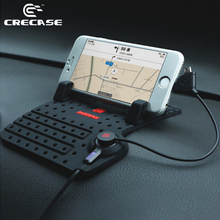 REMAX 5V 2A Universal Anti-Slip Car Holder / Charger Detachable / Removable / Soft Silicone / Cellphone / GPS(China (Mainland))