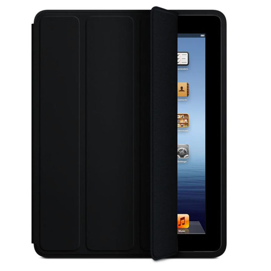 Del New Slim Luxury Fashion Stand Smart Case Leather Back Cover For Apple iPad 2 3 4 Feb24(China (Mainland))