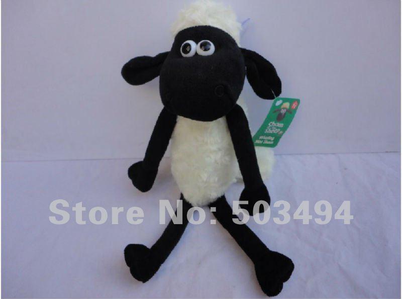 Retail 1 PCS Free Shipping High quality Shaun sheep Plush doll 35CM