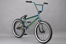 professional 20 inch  20.9 top tube cro mo steel 25t 9t BMX bicycle(China (Mainland))