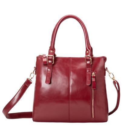 NO.1 NEW 2015 Genuine Leather Bags For Women Messenger bags Fashion Famous Brand Bag Women Leather Bags Genuine Leather Handbag(China (Mainland))