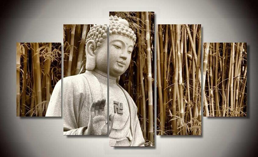 Online kopen wholesale moderne boeddha schilderij uit china moderne boeddha schilderij for Schilderen moderne volwassen kamer