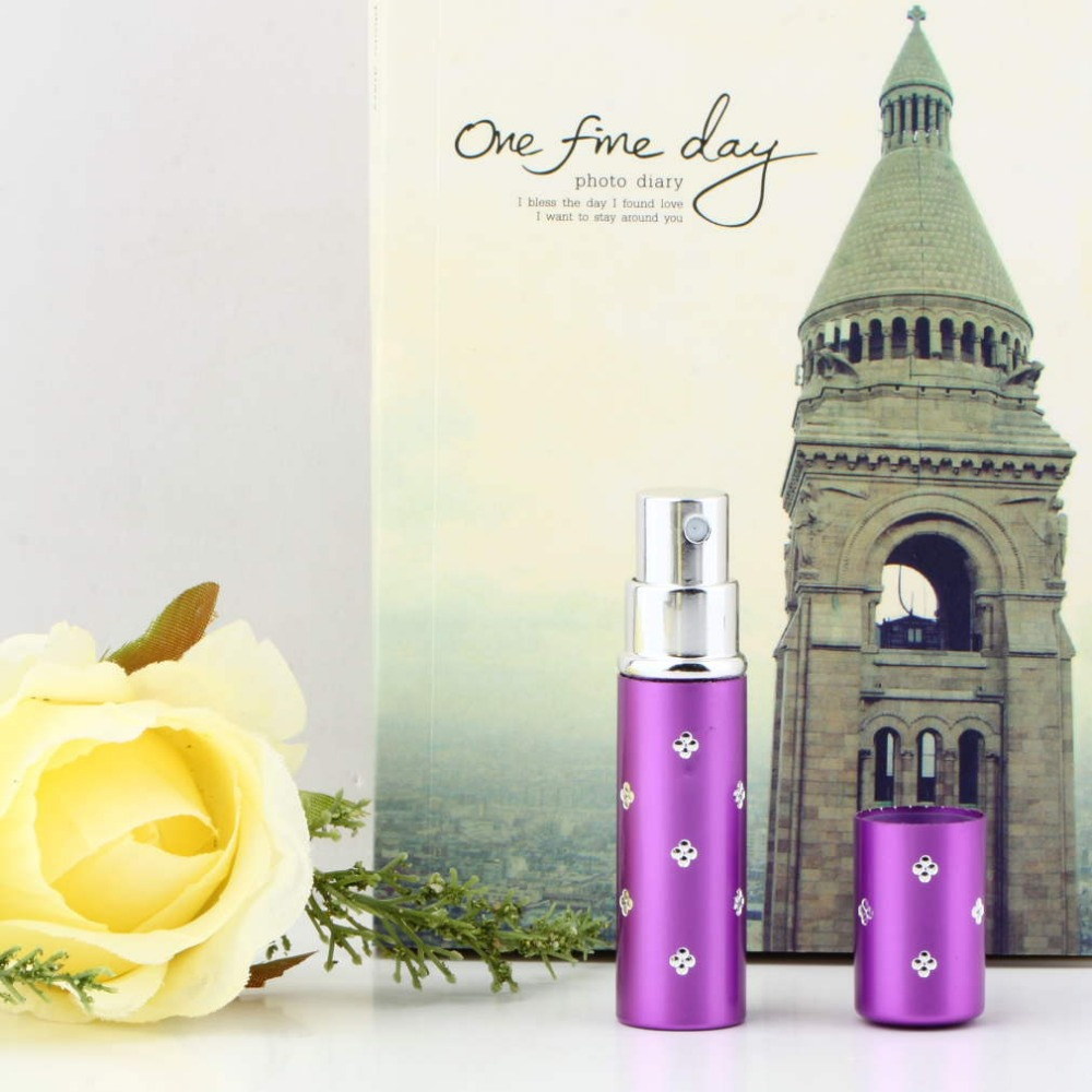 High Quality 1PCS Amazing Travel Perfume Atomizer Refillable Spray Empty Bottle Easy Used Brand New(China (Mainland))