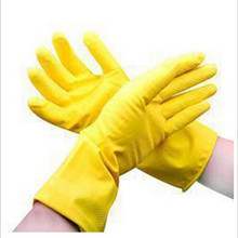 1pc Dishwashing latex gloves Household waterproof laundry housework gloves Factory direct wholesale we also offer rubber gloves(China (Mainland))