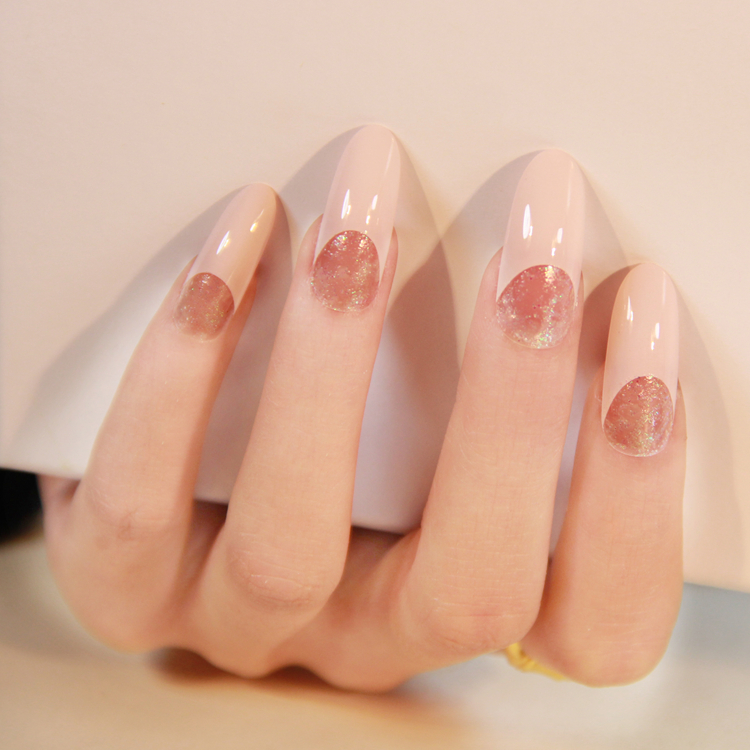 French Tip,stiletto Nail
