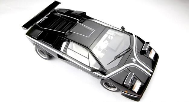 KYOSHO 1:12 Italy basic tremendous automotive mannequin LP500R unique assortment grade alloy mannequin automotive