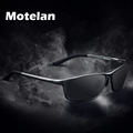 Polarized Men s sunglasses for drivers aluminum magnesium alloy frame sunglasses vintage style UV400 protection driving