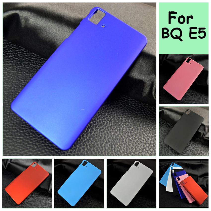 Ultra Thin Oil-coated rubberized Plastic mobile phone skin case Cover For BQ Aqua