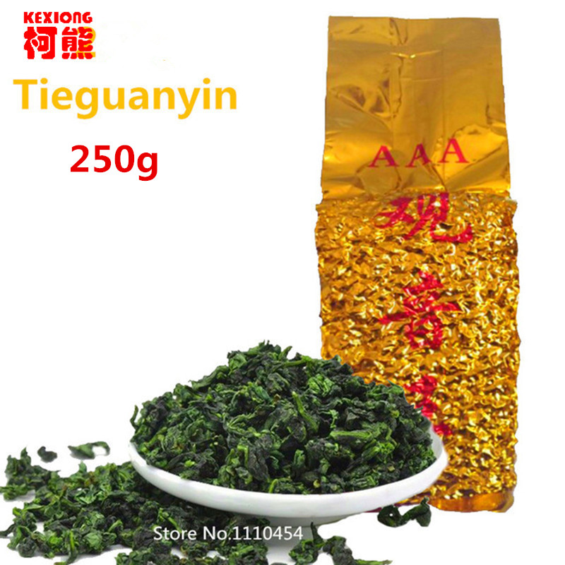 Promotion Vacuum packages Premium Fragrant Type Traditional Chinese Oolong Tea TiKuanYin Green Tea TieGuanYin Tasty Tea 250g(China (Mainland))