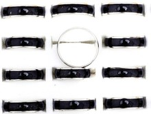 Wholesale Jewelery Bulks 20pcs Mixed Change Color Silver Plated Mood Rings