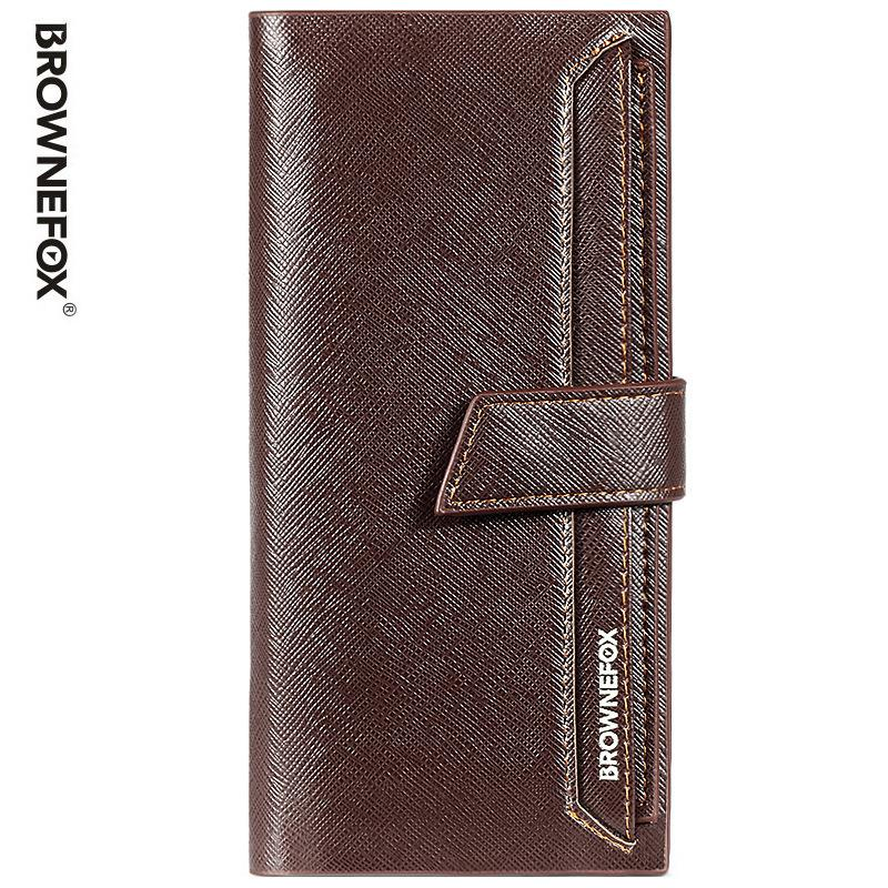 New Fashion Men Long Desinger Wallet Card Pack Brand Designer Male Clutch Bag Money High Quality