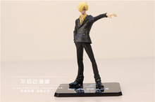 Free Shipping Anime One Piece ZERO The New World After 2 Years Sanji PVC Action Figure Collection Model Toy 15cm