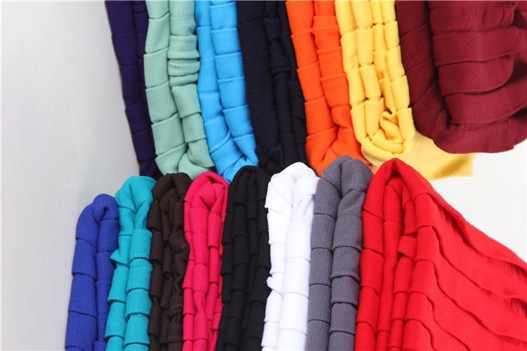 15 Cores Curto Mini Jupe Bandagem Bodycon Magro Moda Saias de Cintura Alta Elástico saia Plissada Hip Saia Curta Senhora Verão