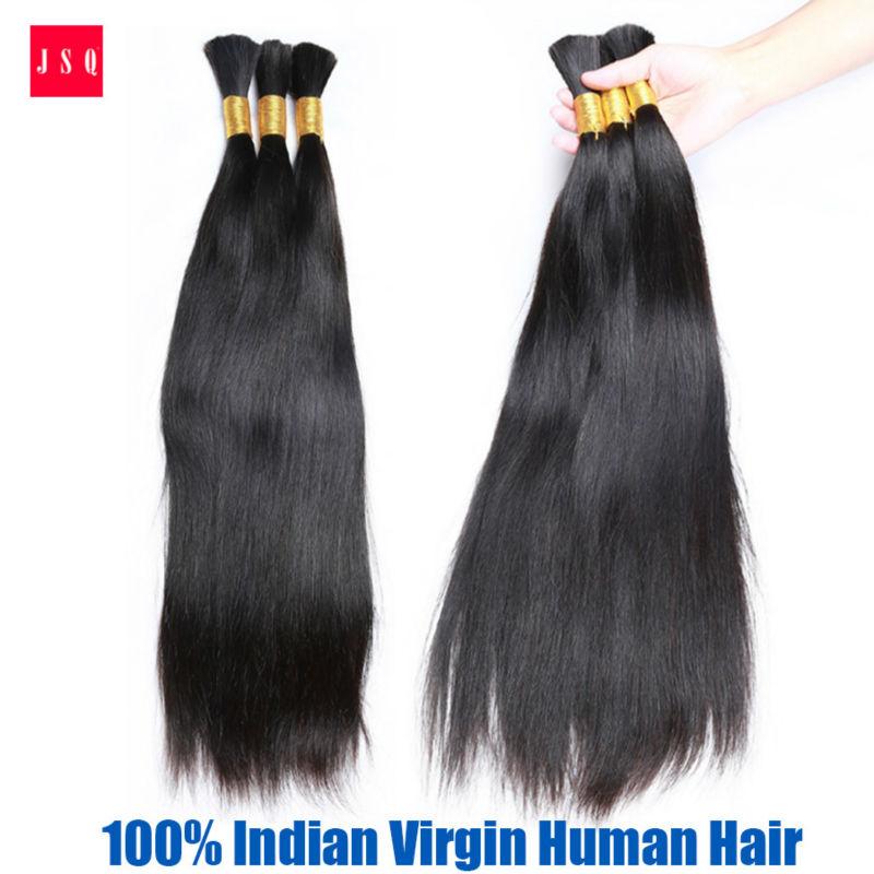 JSQ Bulk Hair Bundle Hair Braids x-pression 1B# Black Quick Straight Hair Extensions Cuticle Living Hair Free Shipping By UPS<br><br>Aliexpress