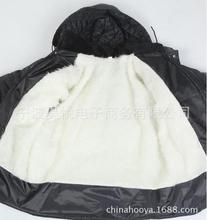 Cotton jacket Plush liner size male winter cold padded jacket dad thick coat low price of foreign trade.JN141