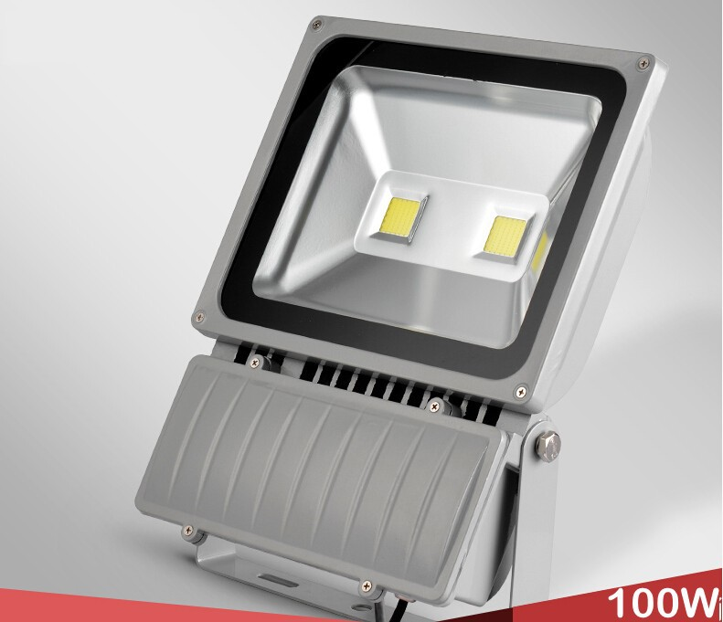 4X/box AC65-275V led flood light outdoor lamp waterproof IP65 100W (China (Mainland))