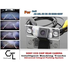 For Audi A8 A8L S8 D3 4E 2002~2007 Parking Assistance Tracks Module Rear View Camera Back Up Parking Camera CCD SONY(China (Mainland))