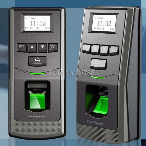 F6 Professional RS485 biometric time attendance and access control with built -in alarm and door bell(China (Mainland))
