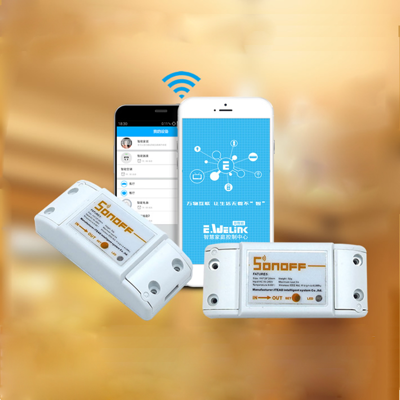 SmartHome WiFi APP Controlled Power Switch
