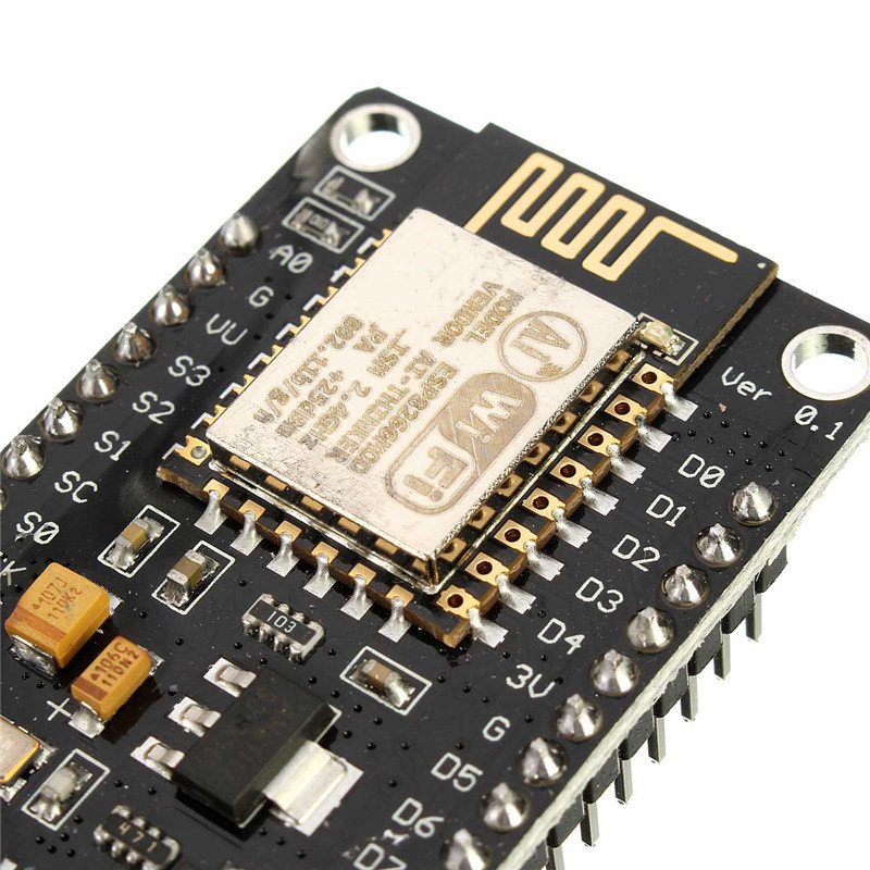 New Electric Wifi Module High quality V2 4M 4FLASH NodeMcu Lua WIFI Networking development board Based ESP8266 Circuit Board(China (Mainland))