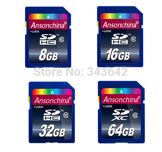 Memory sd card high speed full size sd card 8GB 16GB 32gb 64GB for camera VCR TF Card flash(China (Mainland))