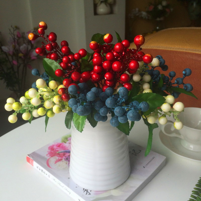 Online get cheap artificial blueberries for Artificial fruit decoration
