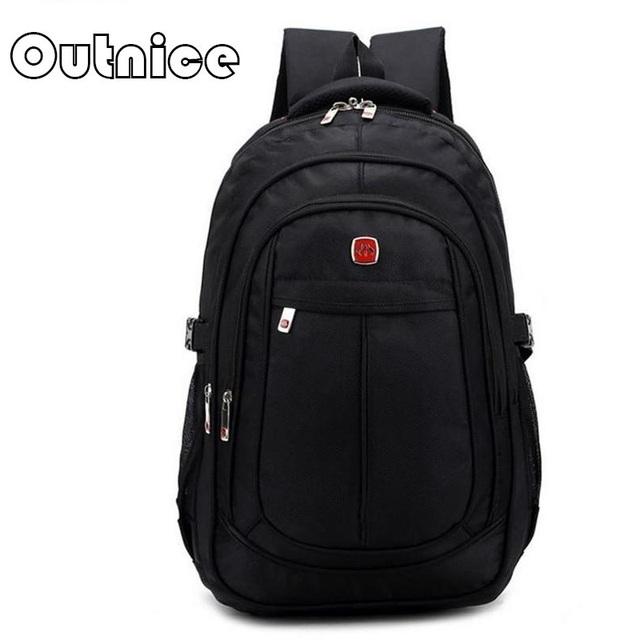 15-дюймовый ноутбук рюкзак школьный средней школы молодые люди ткань оксфорд Тактический ...