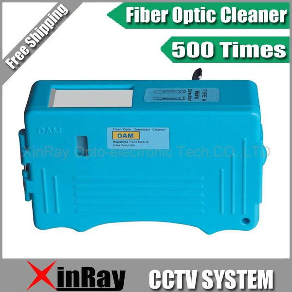 High Quality Fiber Optic Connector Cleaner,Fiber optic patch cord Cleaver Fusion splicer FTTH Tools ,XR-OC01,Free shipping(China (Mainland))