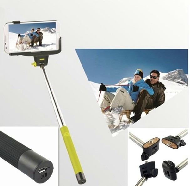 z07 5 extendable selfie stick monopod bluetooth for iphone samsung android tripe monopad free. Black Bedroom Furniture Sets. Home Design Ideas