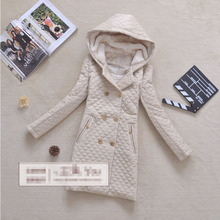 2016 New spring jacket women winter coat women s clothing warm outwear Cotton Padded long Jacket
