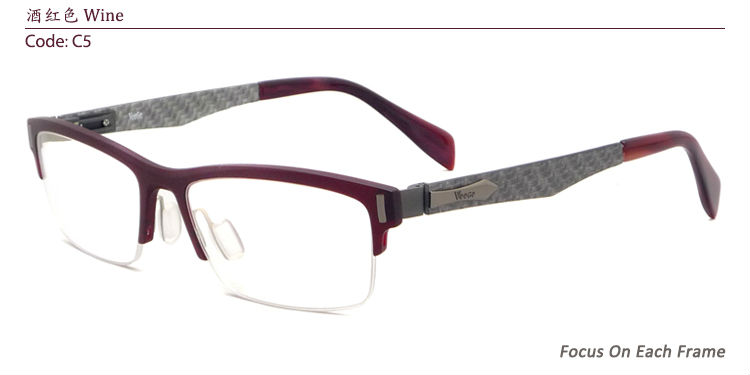 Super Lightweight Eyeglass Frames : Aliexpress.com : Buy Women Fashion Super Lightweight Half ...