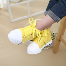 Kids' Sneakers autumn classic children's canvas shoes Boys girls High help fashion leisure sports shoes pentagram baby shoes2746