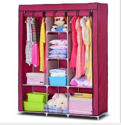 yohere furniture bedroom portable storage wardrobes double large