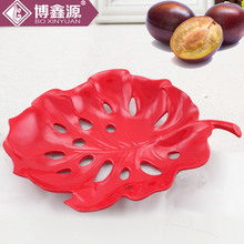 Bo Xinyuan wholesale KTV decoration simple hollow creative fruit plate fruit plate coffee table ornaments luxury home