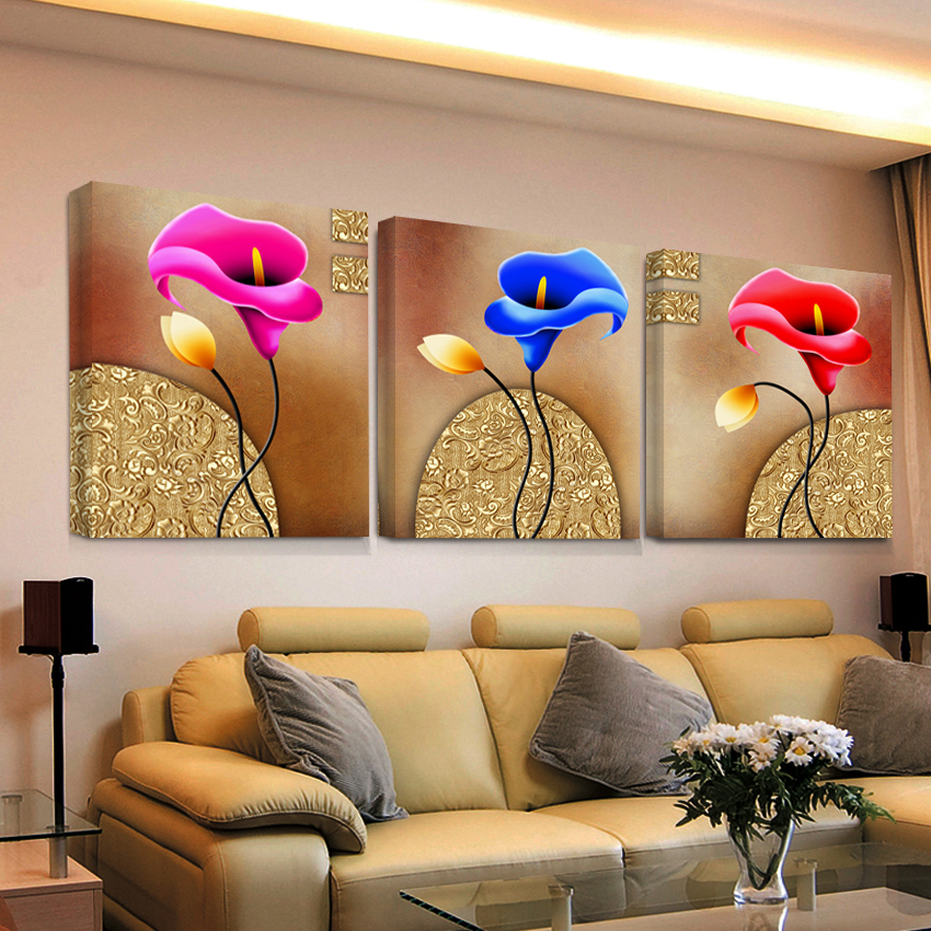 abstract oil modular triptych painting 3 panel wall art hd print canvas prints pictures cheap modern for living room sale(China (Mainland))