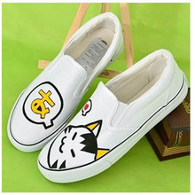 Women Shoes Ice cream Hand Painted Mans footwear Casual shoes Canvas Men Shoes Chaussure Femme Umbrella Shoes Zapatos Mujer(China (Mainland))