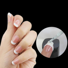 48 Sticker/lot DIY French Manicure Nail Art Decorations Round Form Fringe Guides Nail Sticker(China (Mainland))