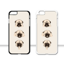 2016 Cute Dog Plastic Custom Printed cell phone Case XIAOMI max mi5 mi4 mi3 RedMi3 Note2 3 SONY X XA M5 Z5mini C4 M4 - Fuleadture Official Store store