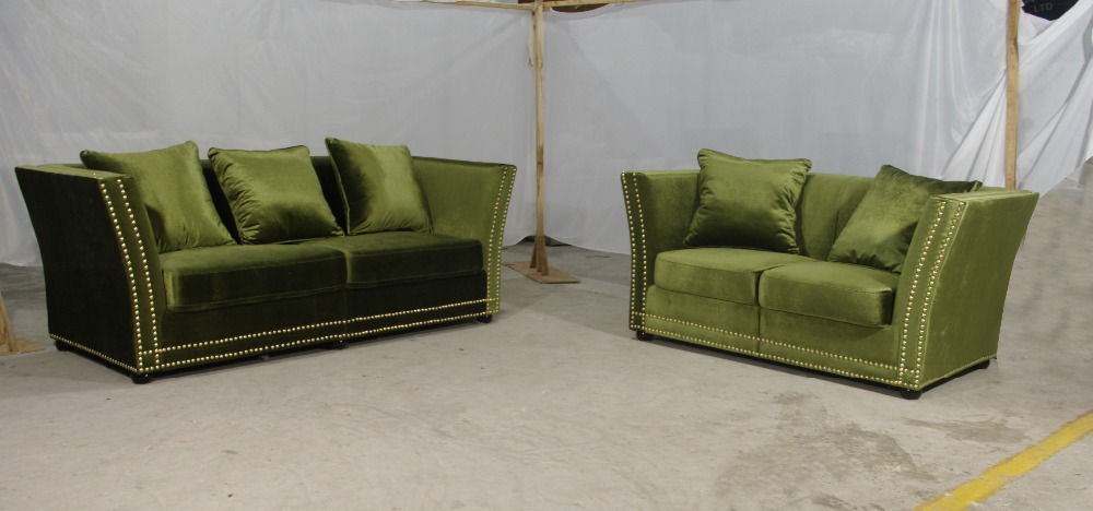MANBAS Lvory Tufted Fabric Sofa comes with tufted fabric with kiln dried hardware for the 7-inch legs,Elegant and comfortable(China (Mainland))