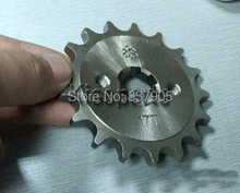 Motorcycle Front Sprocket For Engine CBF/ORT 125/150cc 15/16/17 Teeth 428Chain Motorcycle Front Sprockets Motorcycle Parts