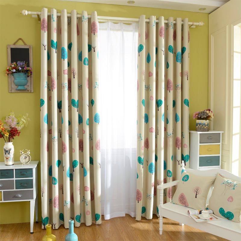 2015 new modern children blackout curtains for kids for Fabrics for children s rooms