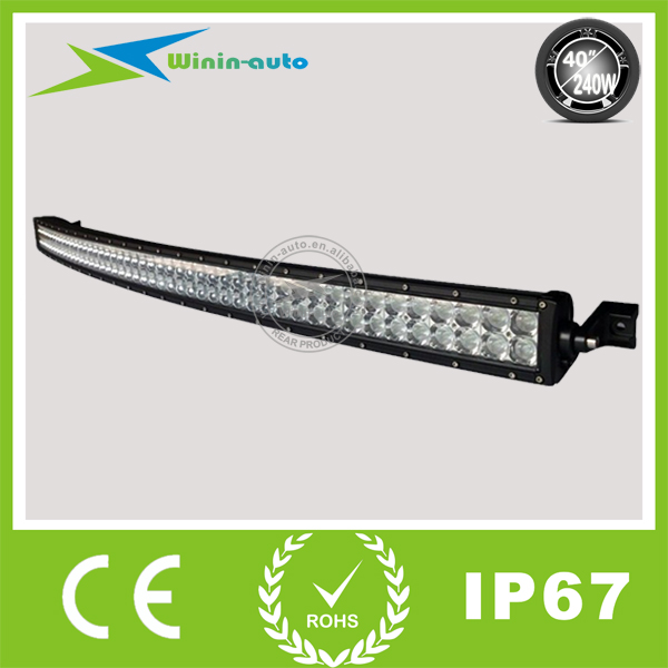 Big Discount 240W led driving light bars Curved 40inch 240w Epistar led light bars for trucks jeep tractor WI9029-240 on sales(China (Mainland))