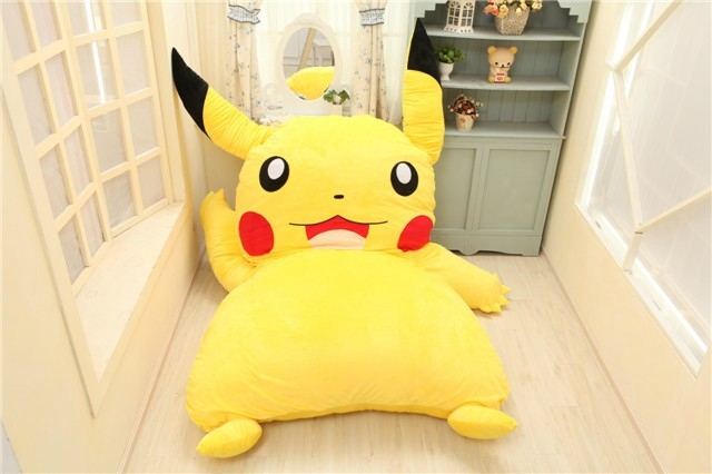 Japan Anime Pokemon Pikachu Stuffed Large Cartoon Japanese
