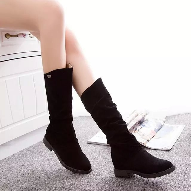 Free Shipping Women Boots Sexy High Heel  Long Boots Over-the-knee Platform Black Bottom Ladies Spring and Autumn Shoes