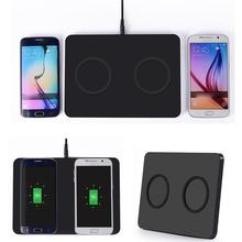 Buy Q300 QI Wireless Charger Double Charge Dual Transm For Samsung Galaxy S7 Edge Aug 05 for $32.85 in AliExpress store