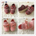 Baby Shoes Spring Autumn Newborn Girls Bow Leather Canvas Shoes Sports Butterfly Knot First Walkers Baby
