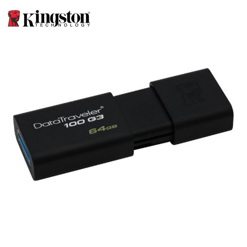 original Kingston USB flash drive DT100G3 USB 3.0 Pendrive 64GB 32GB 16GB 8GB Pen Drive Pendrive USB Memory Stick Flash freeship(China (Mainland))