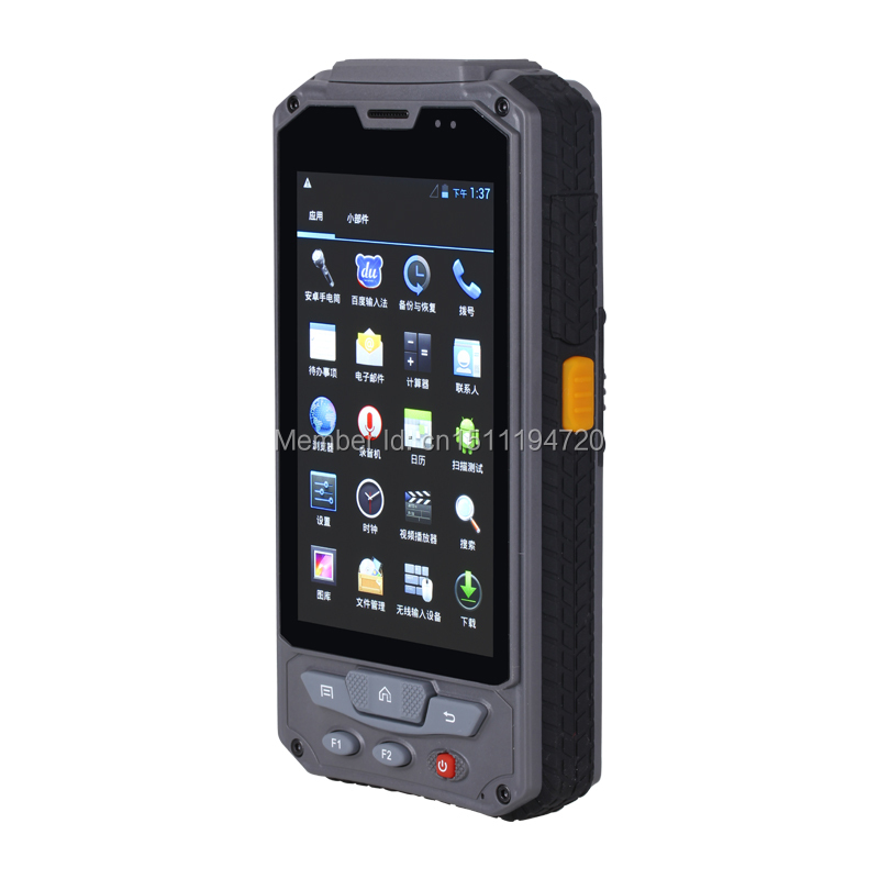 Android operating system PDA with HF URFID reader,GPRS, and Bluetooth(China (Mainland))