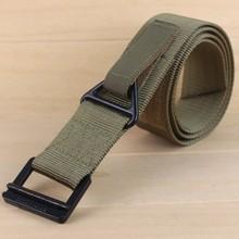 Tactical belt military Nylon webbing belt for outdoor