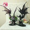 29cm WOW Demon Form Illidan Action Figures Toys Dota 2 Demon Hunter PVC Collectible Figures Model